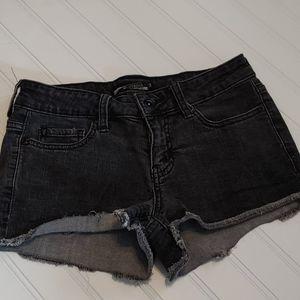 Dark gray Lovesick shorts